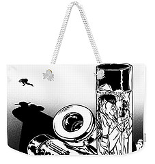 Someone Had To Do Something, And Quick Weekender Tote Bag