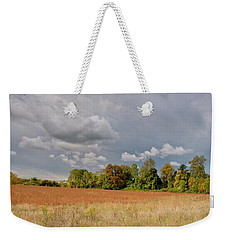 Weekender Tote Bag featuring the photograph Somerset Sky 3069 by Guy Whiteley