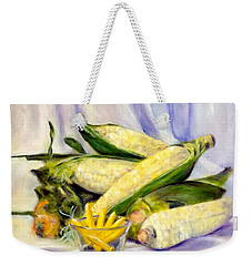 Something Corny Weekender Tote Bag