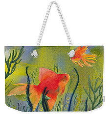 Something Fishy Going On Weekender Tote Bag