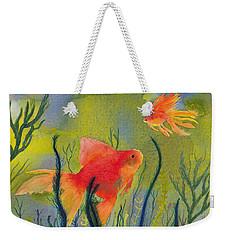 Something Fishy Going On Weekender Tote Bag