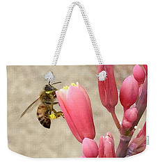 Something To Buzz About Weekender Tote Bag by Russell Keating