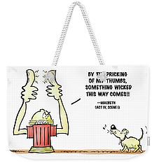 Something Wicked Weekender Tote Bag