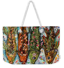 Somethin's Fishy Weekender Tote Bag