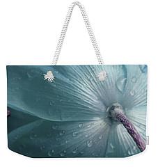 Sometimes Blue Weekender Tote Bag