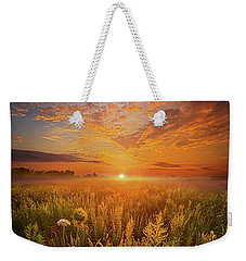 Sometimes Darkness Can Show You The Light Weekender Tote Bag by Phil Koch