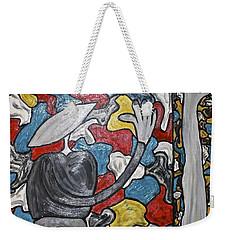 Sometimes I Feel I'm Loosing Part Of Myself Weekender Tote Bag by Mario Perron