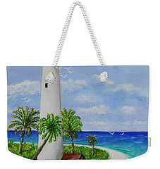 Somewhere Beautiful Weekender Tote Bag