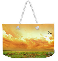 Somewhere In Africa Weekender Tote Bag by Charuhas Images