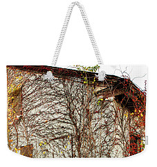 Somewhere In Rhode Island - Abandoned Mill 002 Weekender Tote Bag