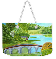 Country Garden In South West England Weekender Tote Bag