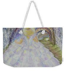 Weekender Tote Bag featuring the painting Somewhere In Time by Lyric Lucas