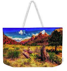 Somewhere In Utah ... Weekender Tote Bag