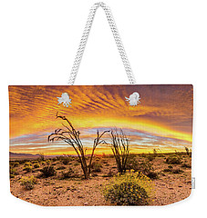 Somewhere Over Weekender Tote Bag