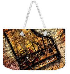 Sonata In Ace Minor Weekender Tote Bag by Gary Bodnar