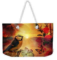 Song At Sunset Weekender Tote Bag