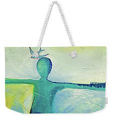 Song Bird Weekender Tote Bag by Gallery Messina