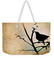 Song Bird Weekender Tote Bag