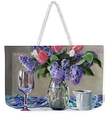 Song Of Spring Weekender Tote Bag by Bonnie Mason