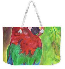 Song Of The Rainforest Weekender Tote Bag by Meryl Goudey