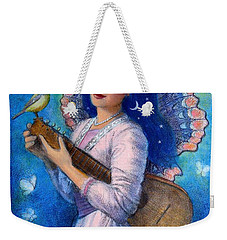 Songbird For A Blue Muse Weekender Tote Bag
