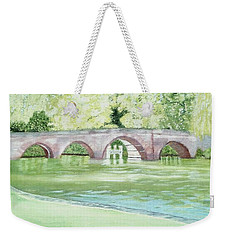Sonning Bridge Weekender Tote Bag