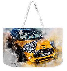 Sonny Watercolor Weekender Tote Bag