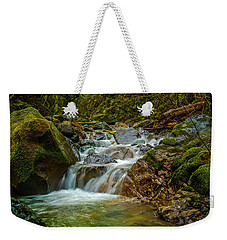 Weekender Tote Bag featuring the photograph Sonoma Valley Creek by Bill Gallagher