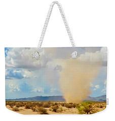 Sonoran Desert Dust Devil Weekender Tote Bag
