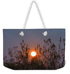 Sonoran Desert Harvest Moon Weekender Tote Bag