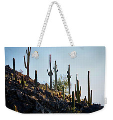 Sonoran Desert Saguaro Slope Weekender Tote Bag