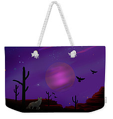 Sonoran Lucid Dream Weekender Tote Bag by J Griff Griffin
