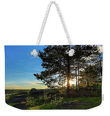 Weekender Tote Bag featuring the photograph Soothing by Rose-Marie Karlsen