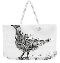 Sooty Grouse Weekender Tote Bag