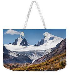 Sophia Glacier. Altai Weekender Tote Bag by Victor Kovchin