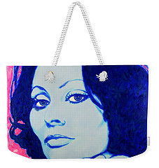 Sophia Loren Pop Art Portrait Weekender Tote Bag