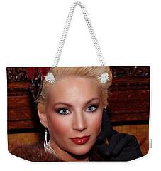 Sophisticated Lady Weekender Tote Bag by Jimmy Ostgard