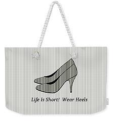Sophisticated Lady Weekender Tote Bag