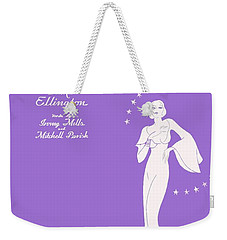 Sophisticated Lady Sheet Music Art Weekender Tote Bag