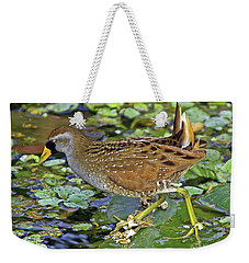 Sora On The Pads Weekender Tote Bag