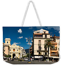 Sorrento Italy Piazza Weekender Tote Bag