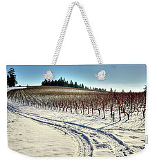 Soter Vineyard Winter Weekender Tote Bag