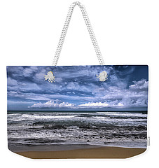Weekender Tote Bag featuring the photograph Sotto Il Maestrale Urla E Biancheggia Il Mar by Enrico Pelos