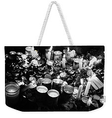 Soul Candles II Weekender Tote Bag by Yoel Koskas