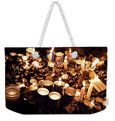 Soul Candles Weekender Tote Bag by Yoel Koskas