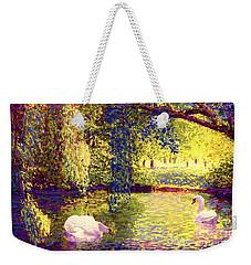 Swans, Soul Mates Weekender Tote Bag