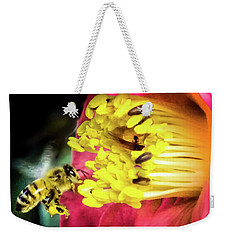 Weekender Tote Bag featuring the photograph Soul Of Life by Karen Wiles