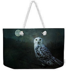 Weekender Tote Bag featuring the digital art Soul Of The Moon by Nicole Wilde