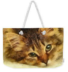 Soulful Eyes Weekender Tote Bag
