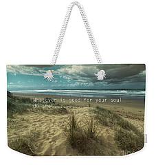 Soulful Weekender Tote Bag